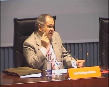Luis Rodríguez Ennes, catedrático de Dereito Romano da Universidade de Vigo.